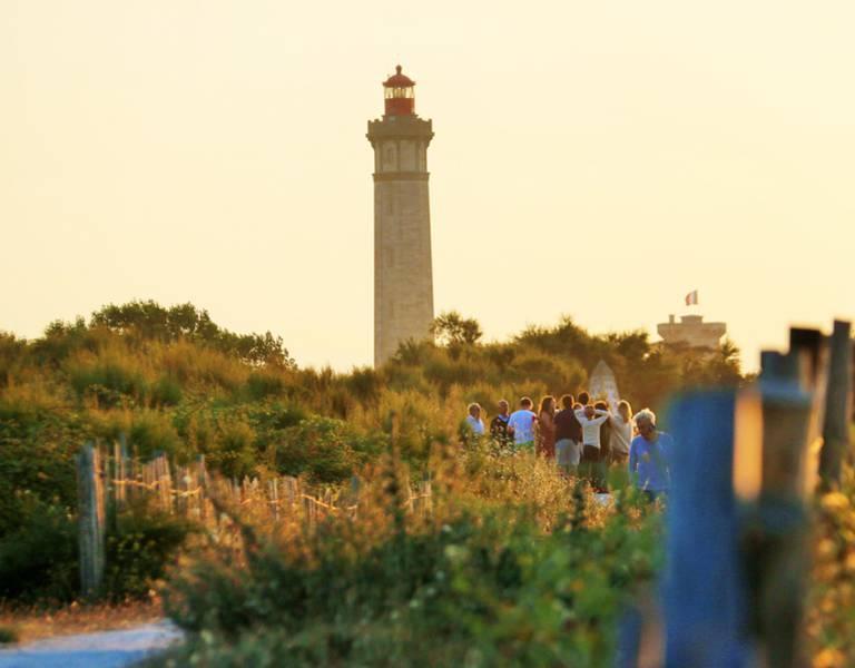 Le phare des Baleines à Saint-Clément-des-Baleines