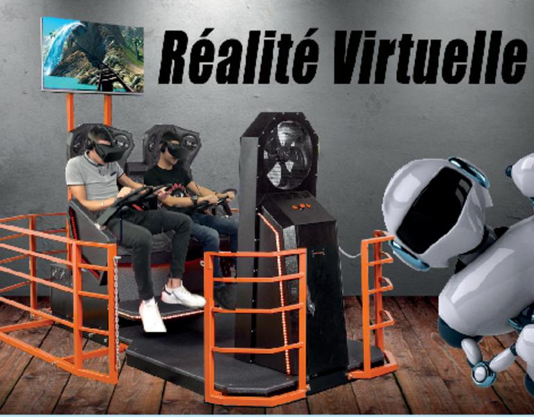 Réalité virtuelle (c) Planètes Sports et Loisirs