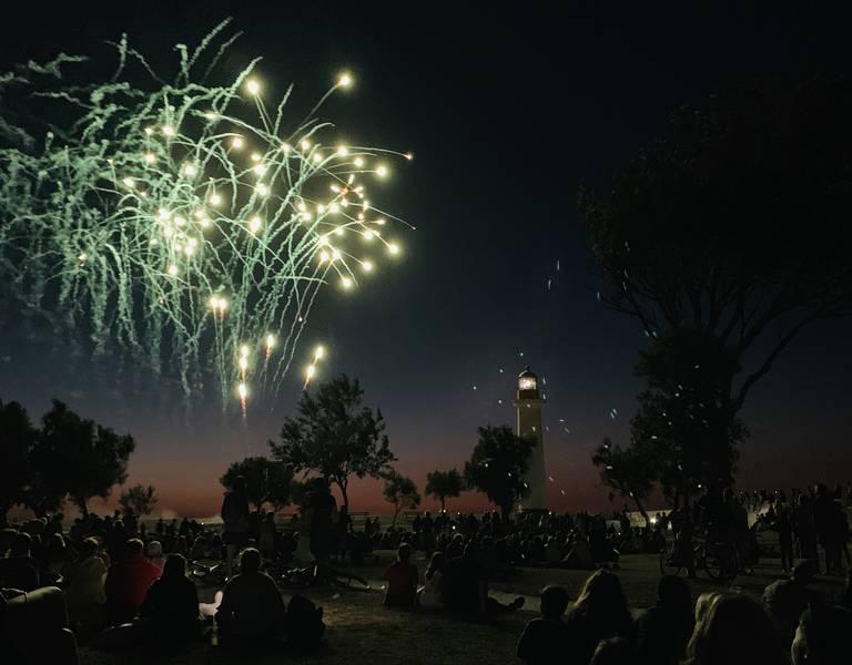 14 juillet feu artifice (c) Jérôme Léchelle