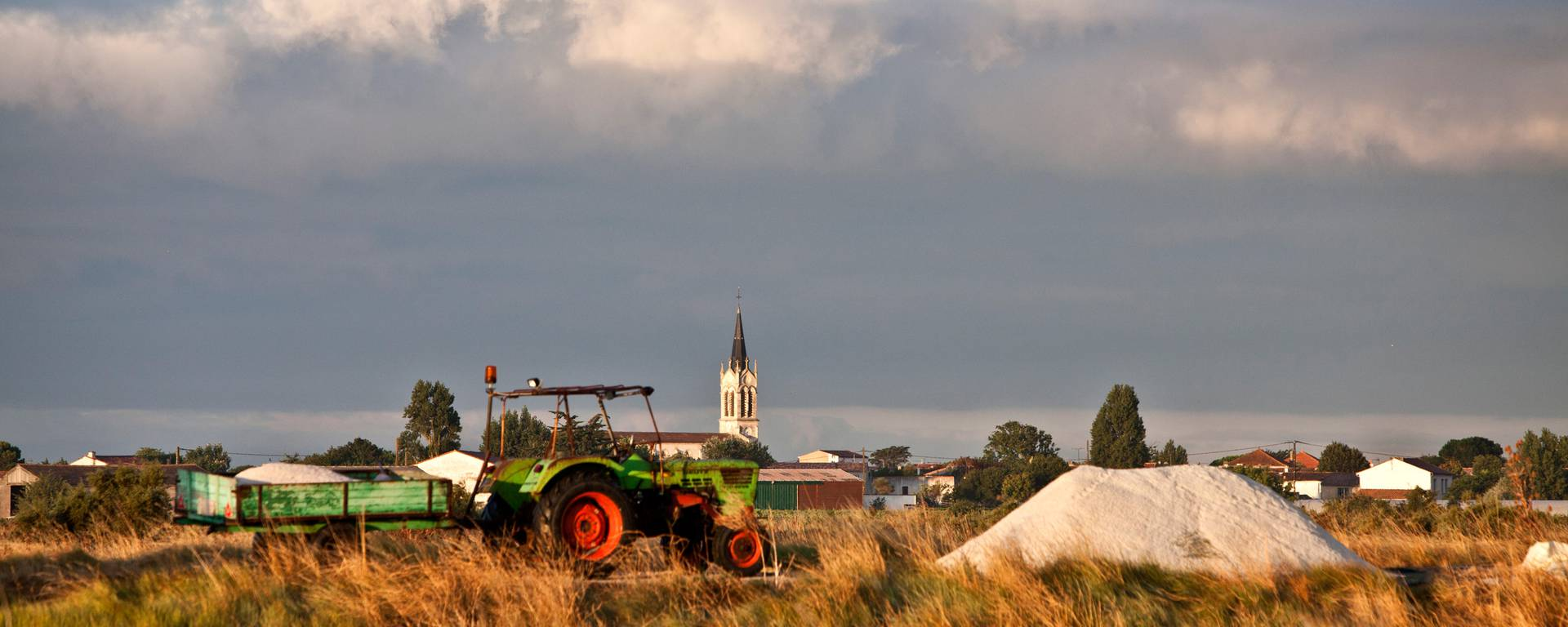 Trateur pour la récolte de sel ©François Blanchard