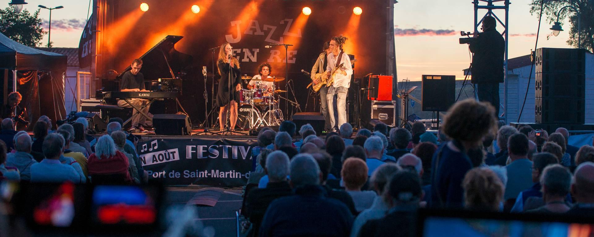 Événement Jazz en Ré à Saint-Martin-de-Ré