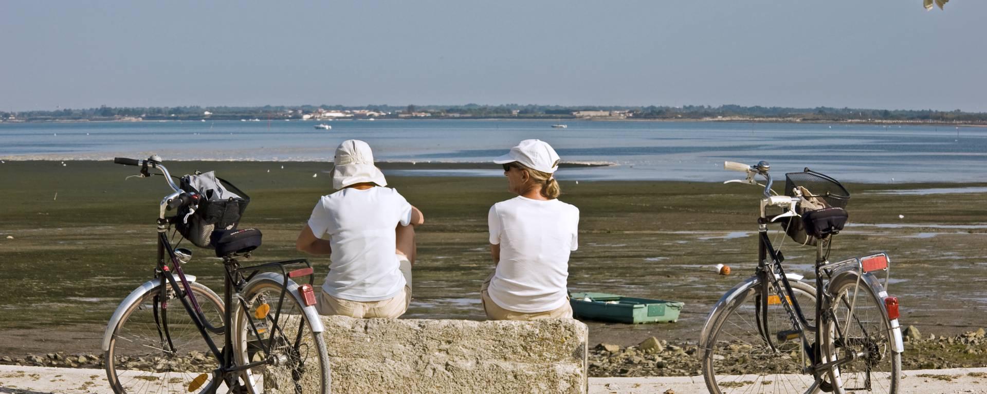 Pause le long du littoral