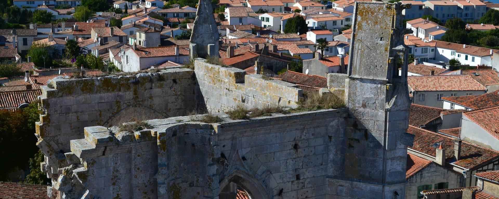 Vue du Clocher de Saint-Martin-de-Ré @Destination Ile de Ré