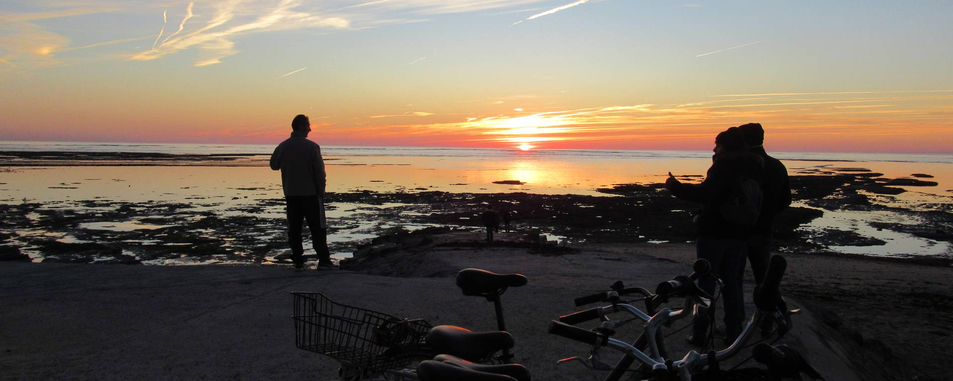 L'Ile de Ré et ses couchers de soleil, Laurence Furic.