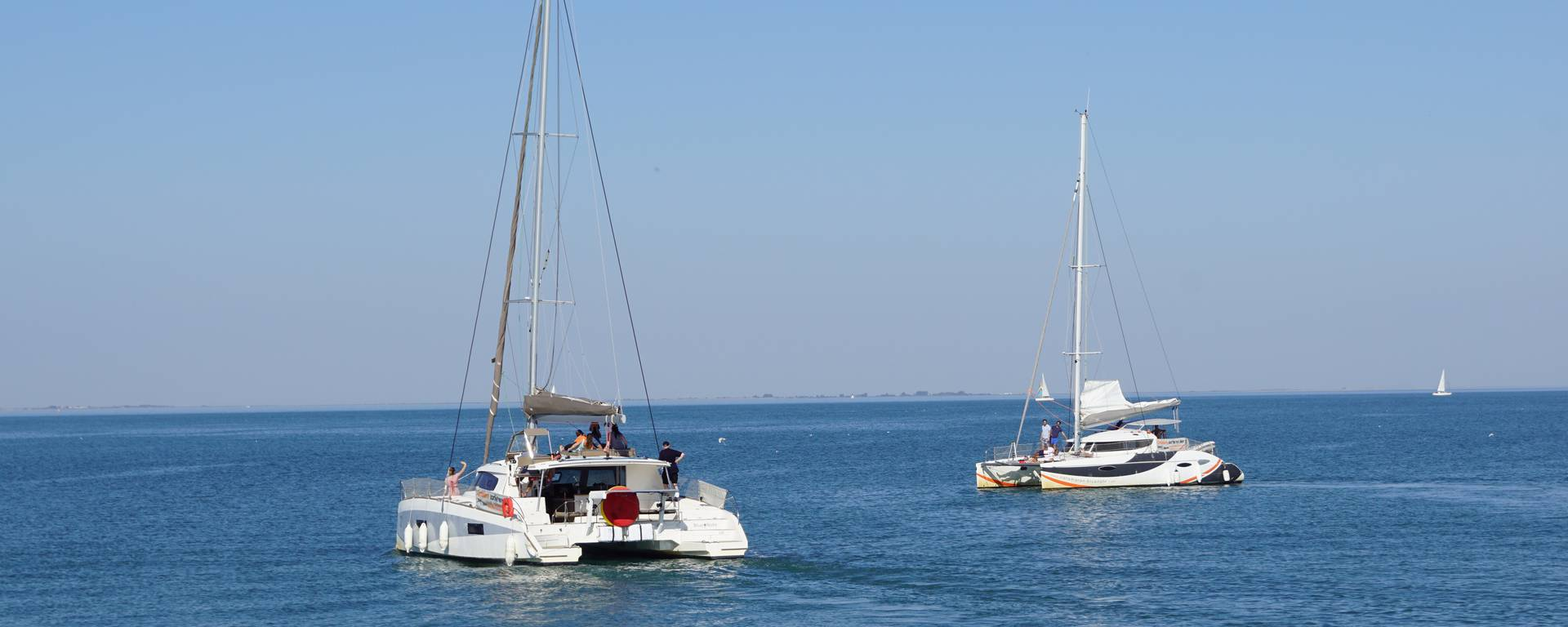Groupes, balade en bateau