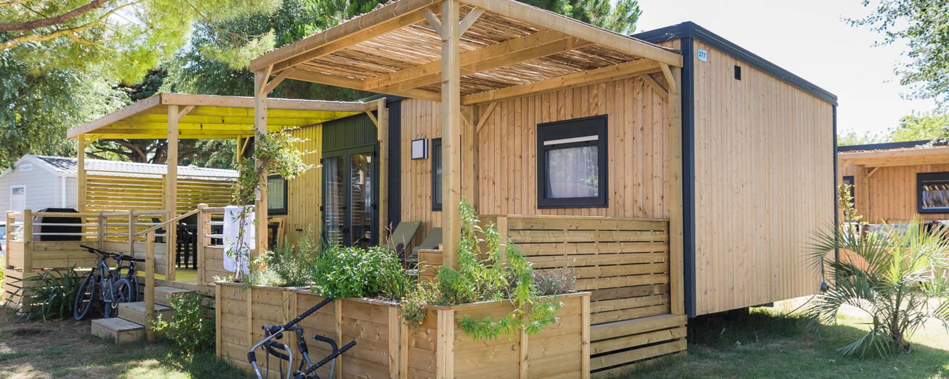 Hébergement Camping Eden Villages L'Océan & Spa