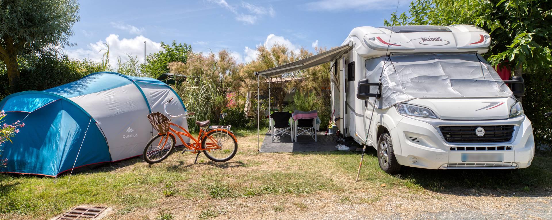 Emplacement Camping la Plage