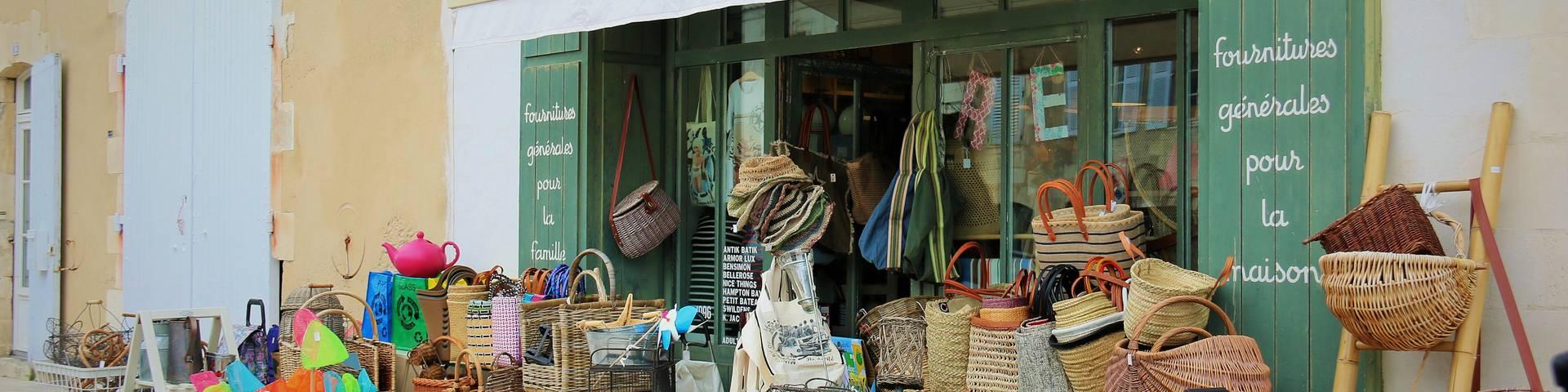 Les commerces et services à Saint-Martin-de-Ré