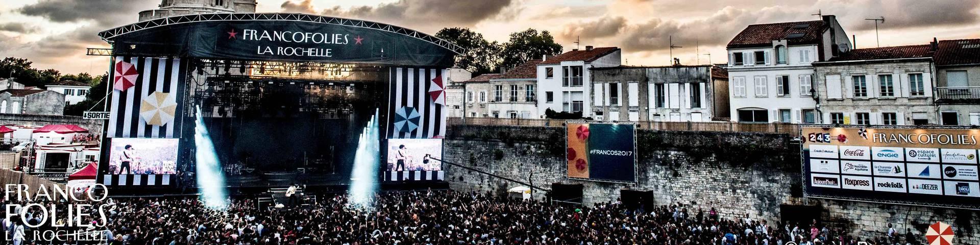©Les Francofolies de La Rochelle