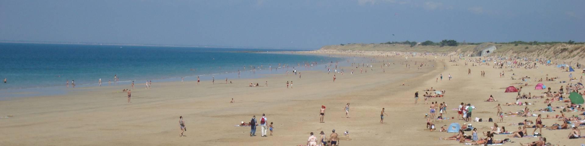 Les plages à Saint-Clément-des-Baleines