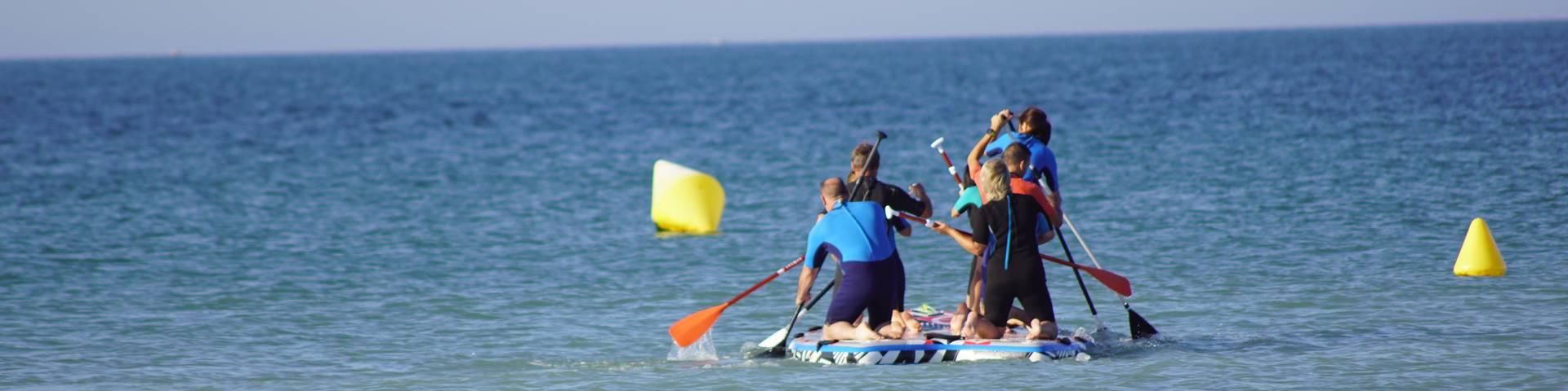 Tourisme d'affaires, paddle géant