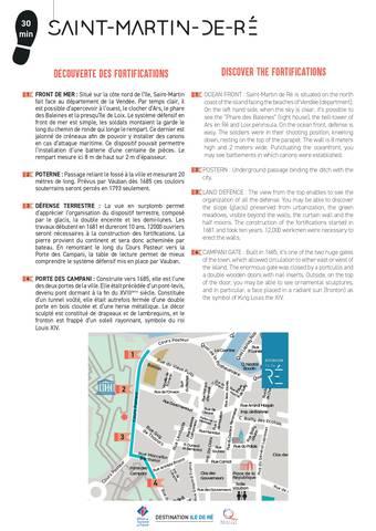 Itinéraire - Saint-Martin-de-Ré (fortifications)