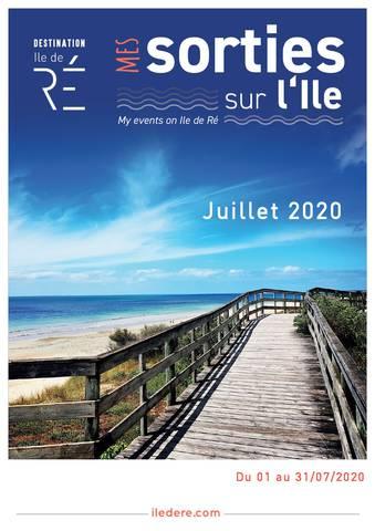 Agenda des animations de l'Ile de Ré - Juillet 2020