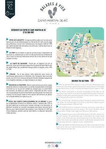 Itinéraire - Saint-Martin-de-Ré (centre-ville et port)