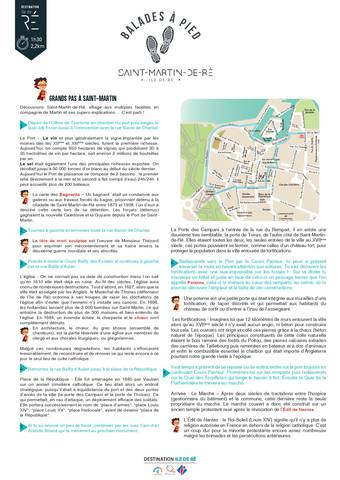 plan itinéraire saint-martin-de-ré