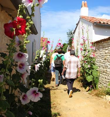 Promenade guidée à travers le village