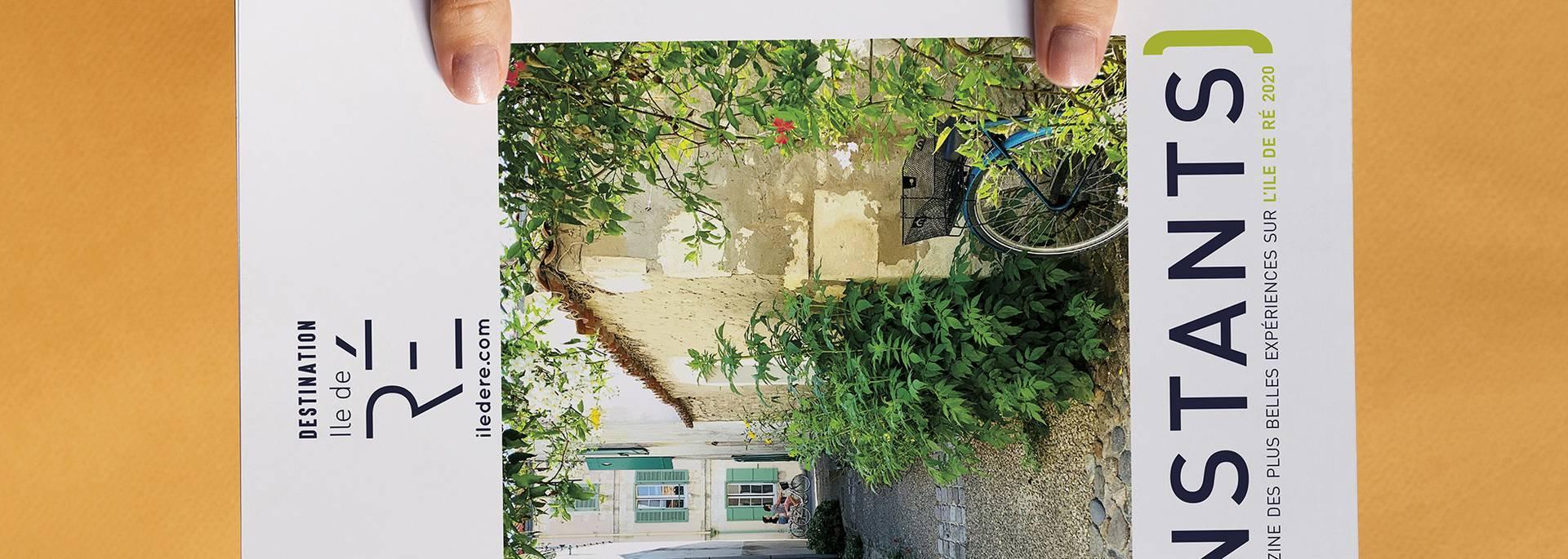 """Magazine """"Instants 2020"""" ©Destination Ile de Ré"""