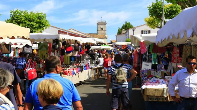Marché du Bois-Plage-en-Ré