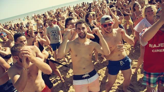 Dance en la playa
