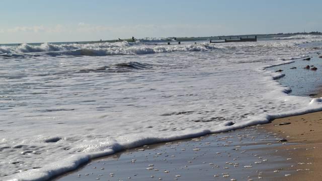 Ecume de mer, horaires de marées@Maëva VILLENEUVE
