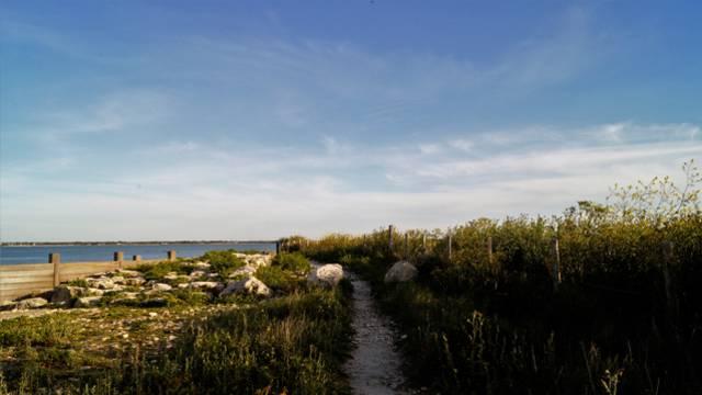 La plage à Loix