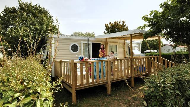Le camping de Loix à L'Ile de Ré