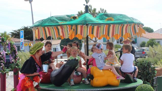 Rivedoux-Plage - Festival de manèges à pédales - Clémence Dunais