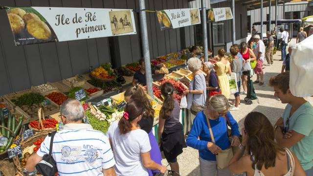 Les commerces et services à la Couarde-sur-Mer