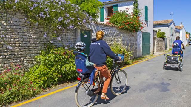 Les locations de vélos à la Couarde-sur-Mer