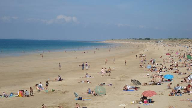 Les plages à Saint-Clément