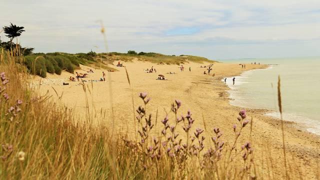 Les plages de Sainte-Marie-de-Ré par Lesley Williamson
