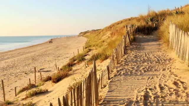 Les plages au Bois-Plage-en-Ré