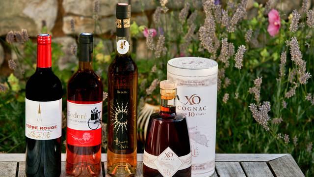 Les vins et spiritueux (cognac et pineau)