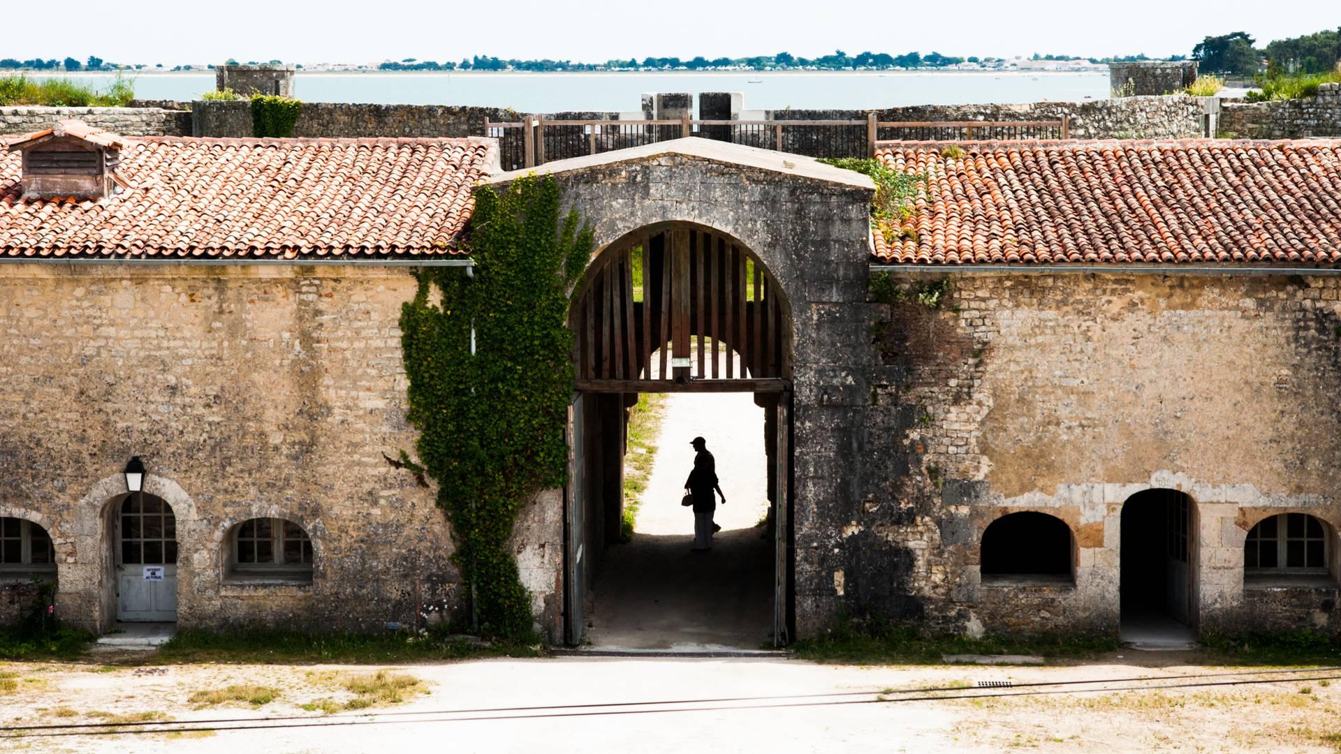 Fort La prée by Elsa Gireaud