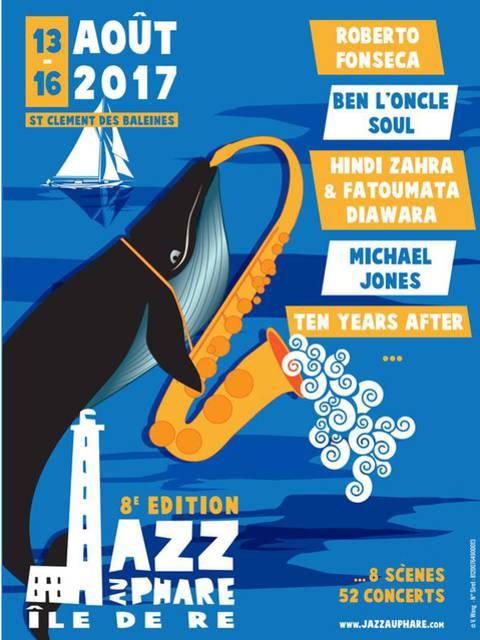 Affiche festival Jazz au Phare 2017