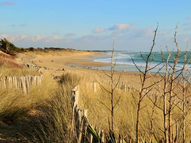 Sentier littoral à La Couarde-sur-Mer ©Lesley Williamson