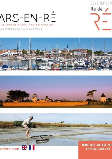 Nos brochures destination ile de r site officiel de l 39 office de tourisme - Office tourisme ars en re ...