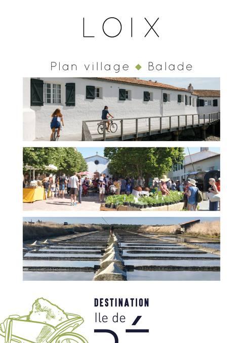 Plan village - Loix