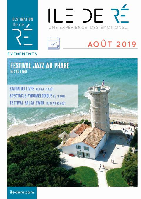 Guide des Animations Ile de Ré - Août 2019