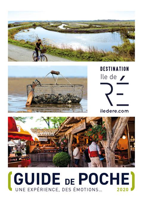©Destination Ile de Ré Couverture Guide de poche 2020