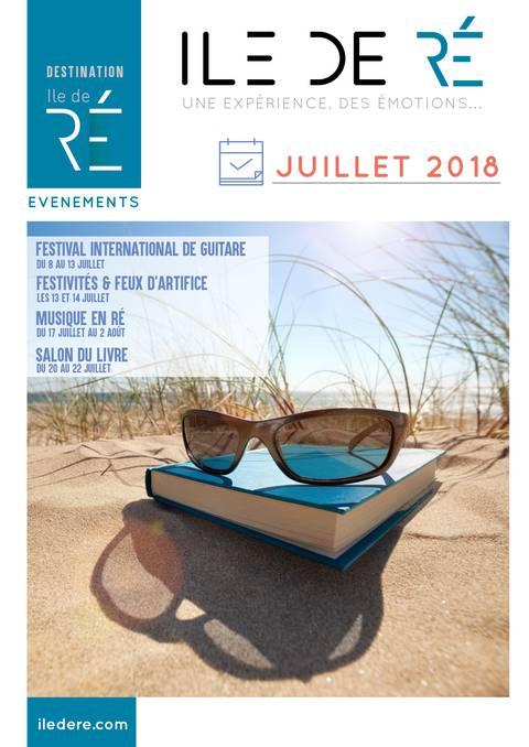 Guide des animations Ile de Ré Juillet 2018