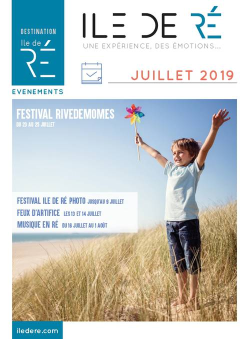 Guide des Animations - Juillet 2019