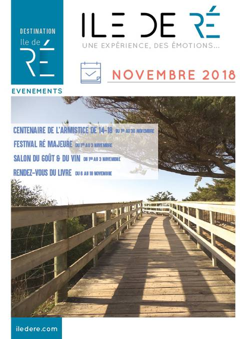 Guide des animations Novembre 2018