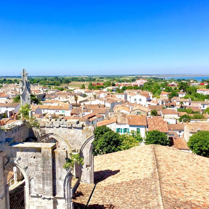 Vue du clocher de Saint-Martin-de-Ré