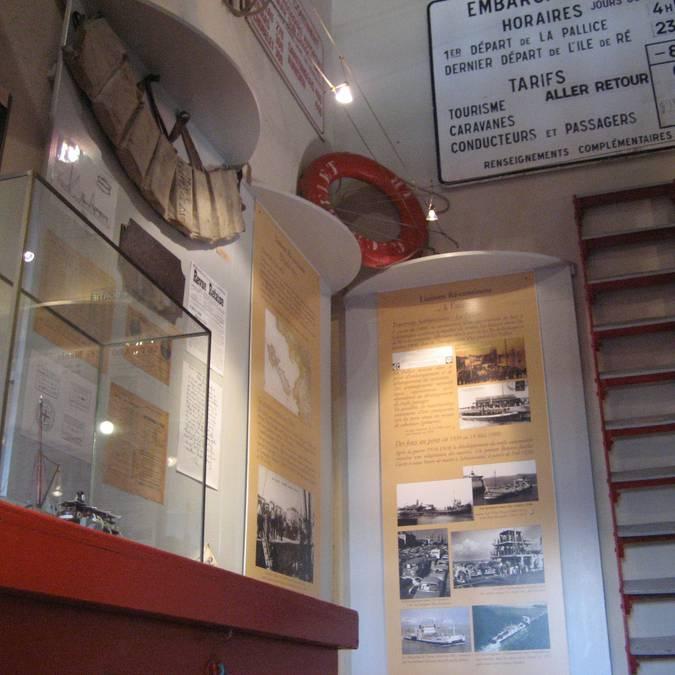 Musée du Platin bac ©Destination Ile de Ré
