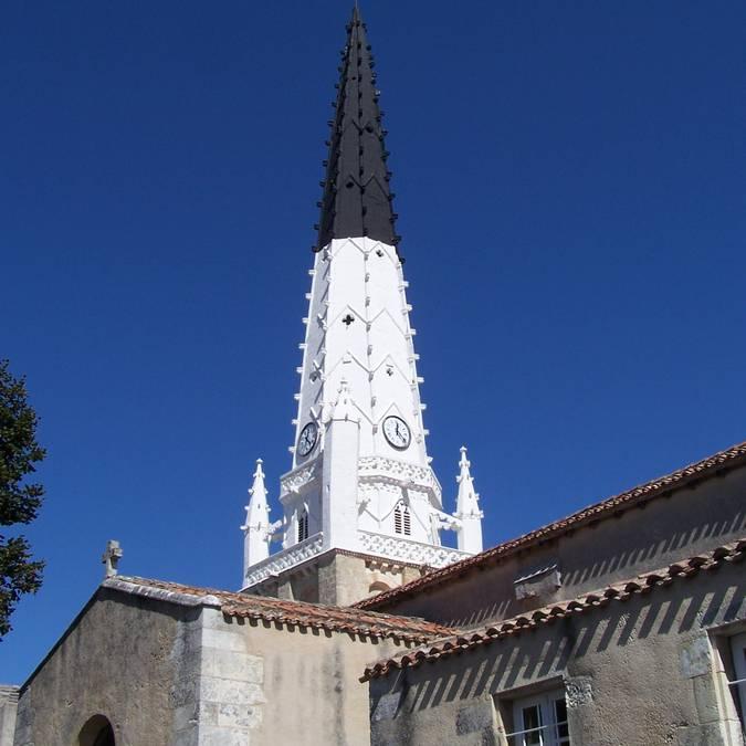 Eglise Sainte-Etienne ©Destination Ile de Ré