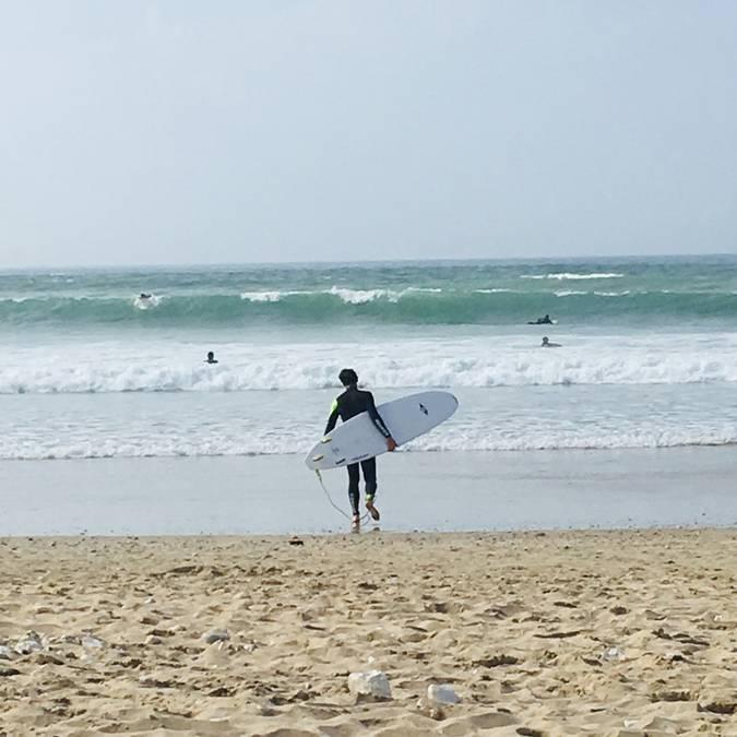 Surf, Ile de Ré, ©Jérôme Léchelle