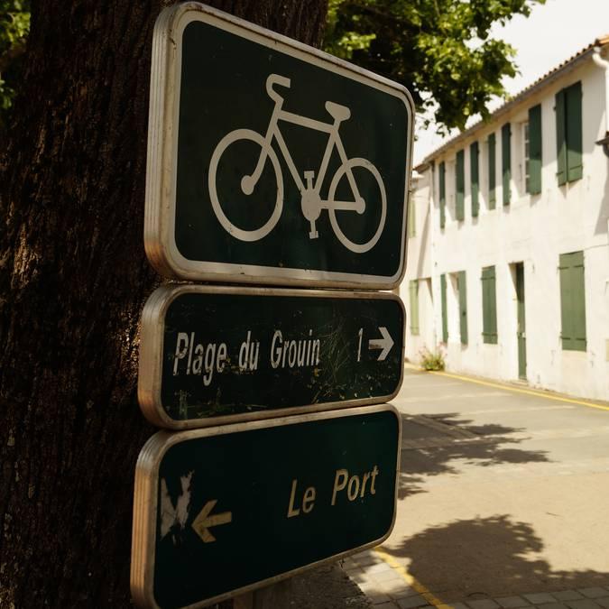 Pistes cyclable Loix (c) Pierre Galine