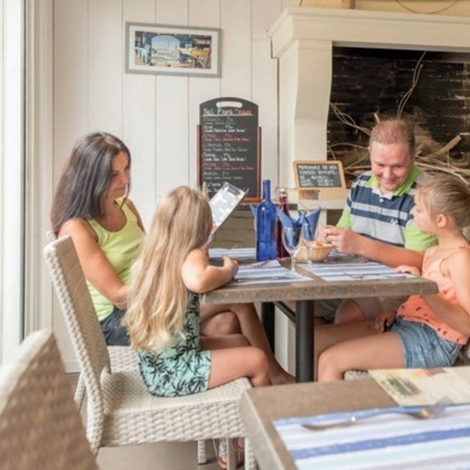 Restaurant ©Hôtel de plein air et spa l'Océan **** Eden Village